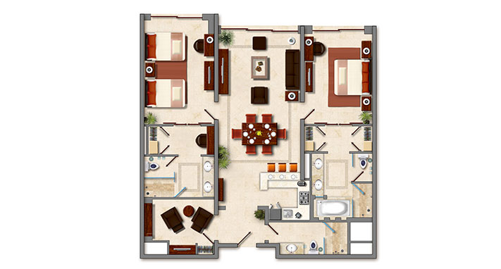 floor-plan-of-presidential-suite-at-grand-solmar-lands-end-resort-spa (1)